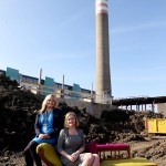 Repro Free: Monday 14th March 2016. Ballymun unveils WISER plans for the environment. €3.6m investment Ballymun Boiler House Project – First of its kind in Europe. Pictured is Noleen Reilly, Deputy Lord Mayor and Sarah Miller, CEO Rediscovery Centre . Picture Jason Clarke.